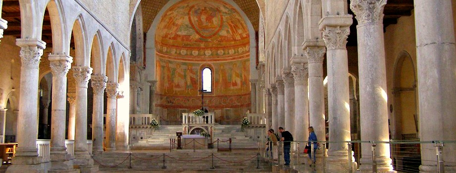 View of the Basilica of Aquileia