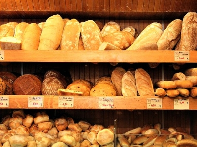 Freshly Baked Bread in Rome