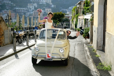 Classic Cars for your Italian Wedding